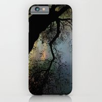 Night Fall By The Tree iPhone 6 Slim Case
