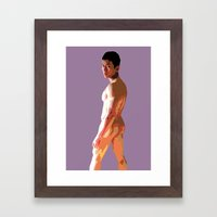 Vietnamese Male Nude Framed Art Print