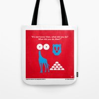 No145 My THE HANGOVER PART 3 minimal movie poster Tote Bag