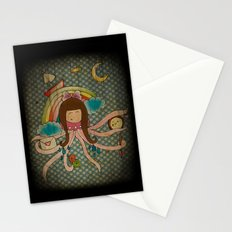 I'm A Little Octopus Stationery Cards
