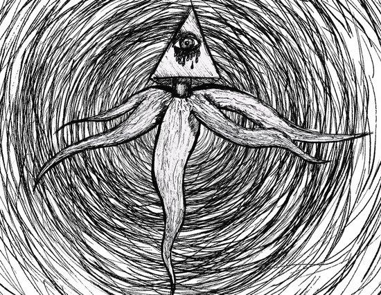 God-Kraken Art Print