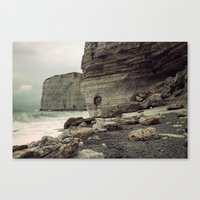 Étretat. France. Canvas Print