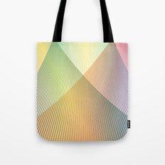 Gradient Strings Tote Bag