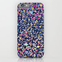 Gold Confetti Color Blur… iPhone 6 Slim Case