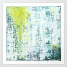 Flowing Green Art Print