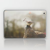 Little Miss Peahen Laptop & iPad Skin
