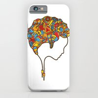 iPhone & iPod Case featuring Musical Mind by Sweaty Eskimo