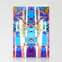 Colored Window Stationery Cards