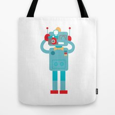 Robot loves Diana Tote Bag
