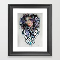 Salvage Beauty Framed Art Print