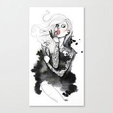 jap lace Canvas Print