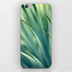 Spiked Leaves on a Slant iPhone & iPod Skin