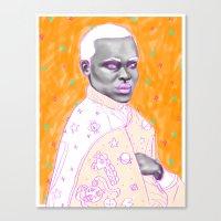 Naranja Canvas Print