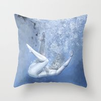 Succumb Throw Pillow