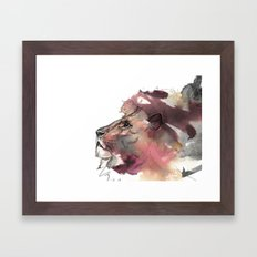 The Leo King Framed Art Print