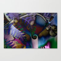 Fish Thoughts Canvas Print