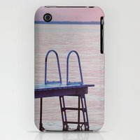 iPhone 3Gs & iPhone 3G Cases featuring Purple Lake Sunset by Pure Nature Photos