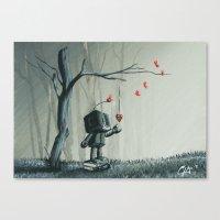 I finally found you Canvas Print