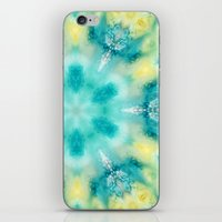 watercolor tie dye iPhone & iPod Skin