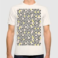 Dewdrops Mens Fitted Tee Natural SMALL