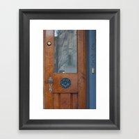 Doors 2 Framed Art Print
