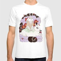 Master And Servant Mens Fitted Tee White SMALL