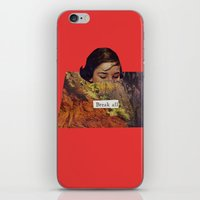 Break All iPhone & iPod Skin