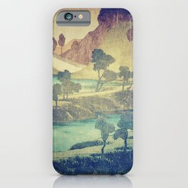 iPhone & iPod Case - A Valley in the Evening - Kijiermono