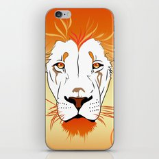 Fire Lion iPhone & iPod Skin