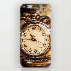 Vintage Clocks iPhone & iPod Skin