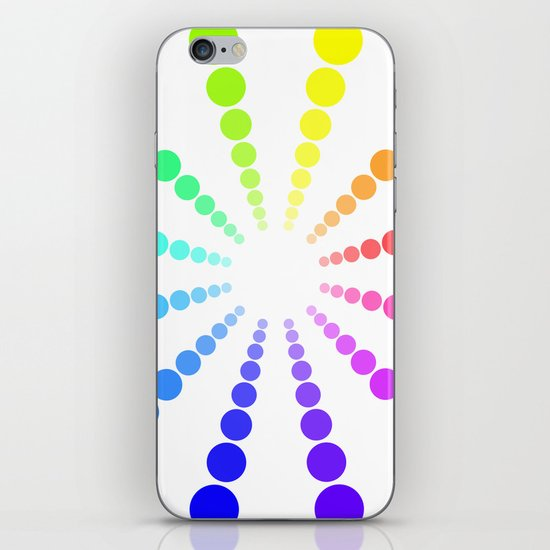 dots & circles o2 iPhone & iPod Skin