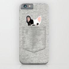 Pocket French Bulldog - Pied iPhone 6s Slim Case