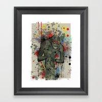 Boogie Man Framed Art Print