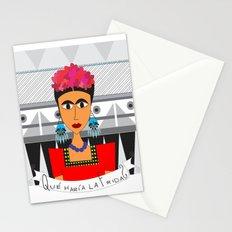 qué haría Frida? Stationery Cards