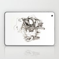 Anatomy: Study 1 Salivating Zombie Laptop & iPad Skin
