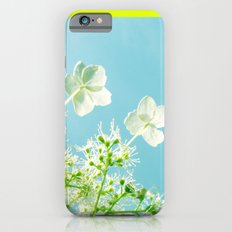 Retro tint Hydrangea iPhone 6 Slim Case