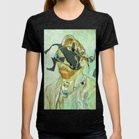 In Vincent´s Face · 3 Womens Fitted Tee Tri-Black SMALL