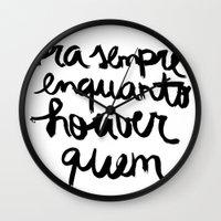 Quem Wall Clock