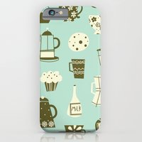 iPhone & iPod Case featuring Cafe Au Lait by shiny orange dreams