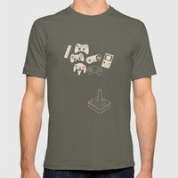 Videogame Mens Fitted Tee Lieutenant SMALL