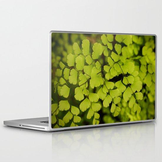Maidenhair Fern Laptop & iPad Skin