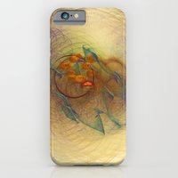 iPhone & iPod Case featuring Little Dumbbell Nebula Fractal Art Dreamcatcher Abstract Print by Virtualkee