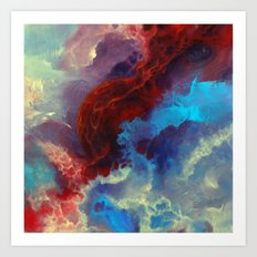 Everything Begins With A… Art Print