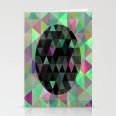 World Of Triangles - Geometric artwork Stationery Cards