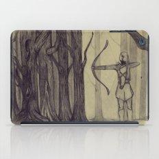 Legolas LOTR - the noisy silence of woods iPad Case