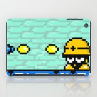 Minion's Last Rites: Mega Man's Metool iPad Case