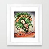 ¨burns baby burns¨ Framed Art Print