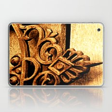Metalwork and Wood Laptop & iPad Skin
