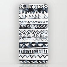 Tribal Stripe - B & W iPhone & iPod Skin