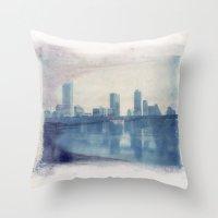 Austin Reflected Polaroi… Throw Pillow